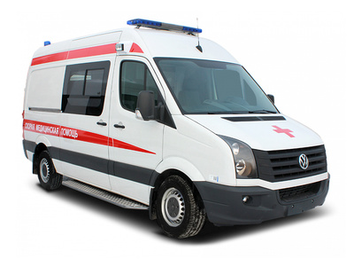 Автомобиль скорой Volkswagen