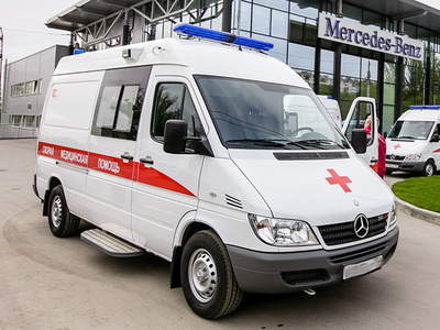 Пост скорой медицинской помощи Mercedes-Benz